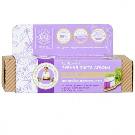 Zubná pasta Babička Agáta pre prevenciu vzniku zubného kazu, 75ml