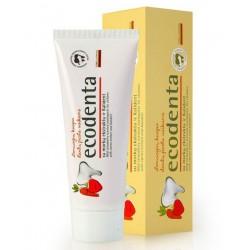 Zubná pasta pre deti s jahodovou príchuťou, Ecodenta, 100ml