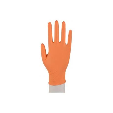 NITRILE POWDER FREE oranžové (100 ks)