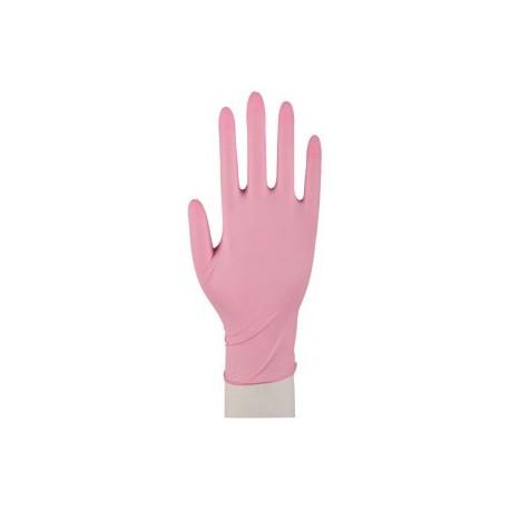 NITRILE POWDER FREE ružové (100 ks)