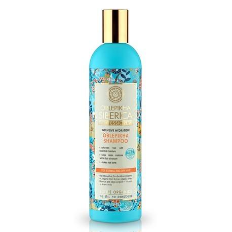 NATURA SIBERICA Rakytníkový šampón pre normálne a suché vlasy (400 ml)