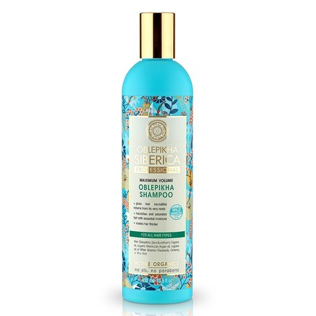 NATURA SIBERICA Rakytníkový šampón pre objem vlasov (400 ml)