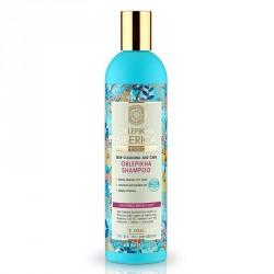 NATURA SIBERICA Rakytníkový šampón hĺbkovo čistiaci pre normálne a suché vlasy (400 ml)