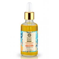 NATURA SIBERICA Rakytníkový olejový komplex na rozštiepené vlasové končeky (50 ml)