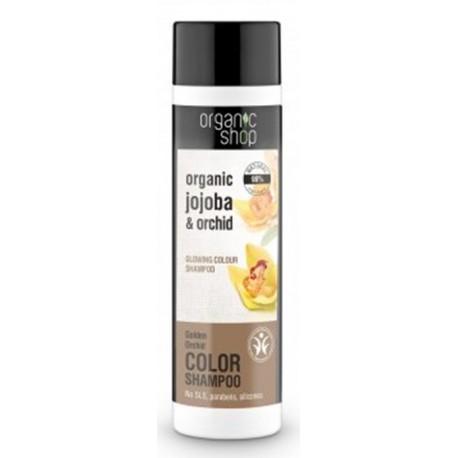 Šampón pre zvýraznenie farby, (280 ml), ORGANIC SHOP
