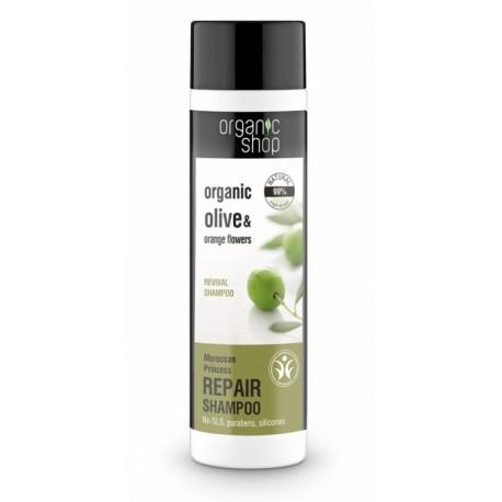 Obnovujúci šampón (280 ml), ORGANIC SHOP