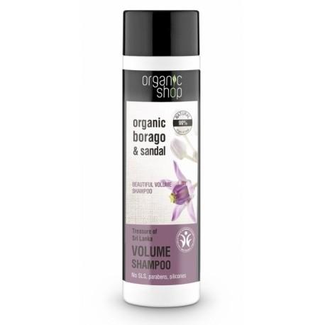 Šampón pre objem vlasov (280 ml), ORGANIC SHOP