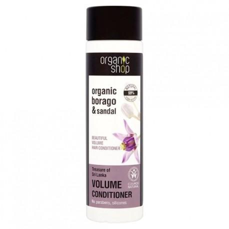 Prírodný kondicionér pre objem vlasov (280 ml), ORGANIC SHOP
