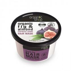 Expresná maska pre lesk vlasov (250ml), ORGANIC SHOP