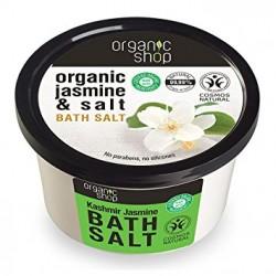 Soľ do kúpeľa Kašmírový Jazmín (250 ml), ORGANIC SHOP