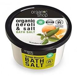 Soľ do kúpeľa Kvet Pomarančovníka (250 ml), ORGANIC SHOP