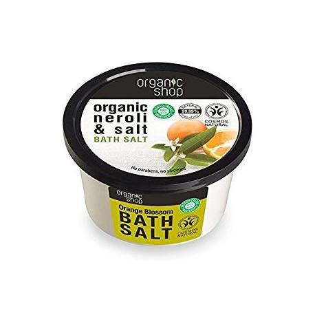 Soľ do kúpeľa Kvet Pomarančovníka (250 ml)