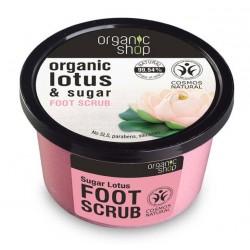 Píling na nohy Cukrový Lotos (250 ml), ORGANIC SHOP