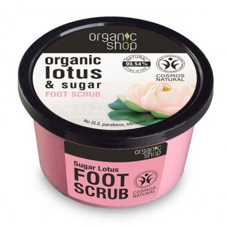 Píling na nohy Cukrový Lotos (250 ml)