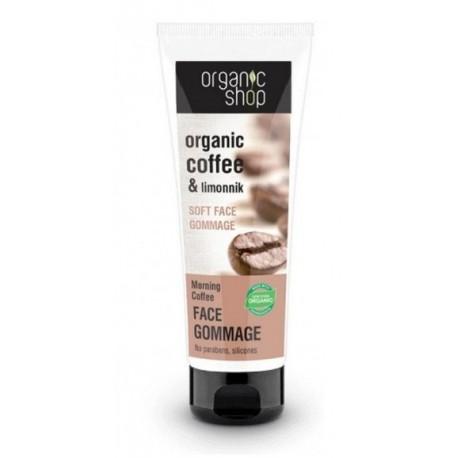 Jemná pleťová gomáž Ranná káva (75 ml)