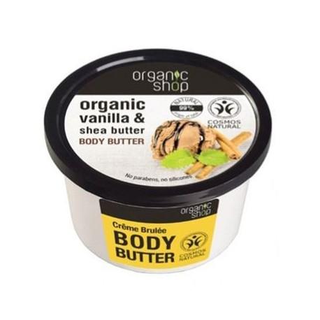 Telové maslo Crème Brulèe (250 ml)