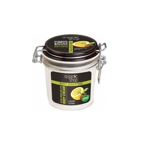Aktívny modelačný telový krém Citrón a Káva (350 ml)