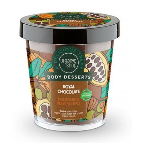 Výživné telové soufflé (450 ml), ORGANIC SHOP