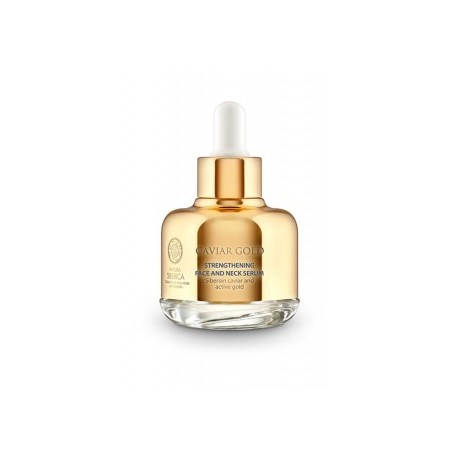 Posilňujúce sérum na tvár a krk (30 ml), CAVIAR GOLD, NATURA SIBERICA