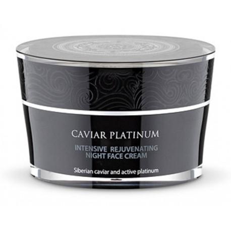 Intenzívny omladzujúci nočný krém na tvár (50 ml), CAVIAR PLATINUM, NATURA SIBERICA