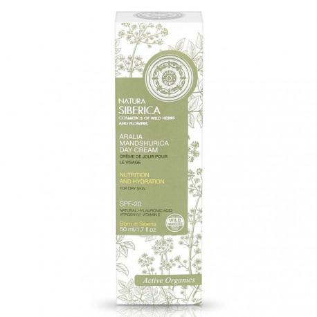 Denný krém na tvár s aráliou mandžurskou (50 ml), NATURA SIBERICA