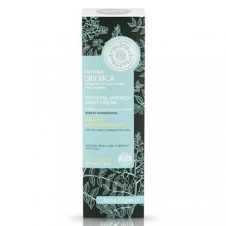 Nočný krém na tvár so soforou japonskou (50 ml), NATURA SIBERICA