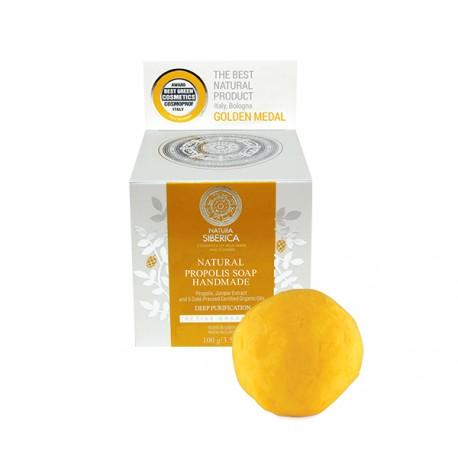 Prírodné ručne vyrobené propolisové mydlo (100 g), NATURA SIBERICA