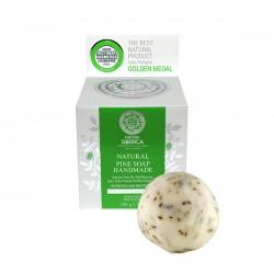 Prírodné ručne vyrobené borovicové mydlo (100 g), NATURA SIBERICA