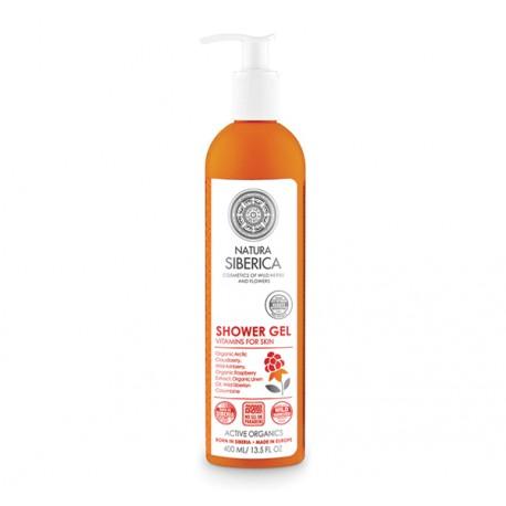 Vitamínový sprchový gél (400 ml), NATURA SIBERICA