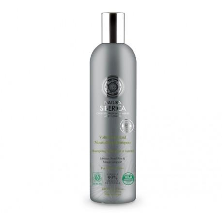 Šampón pre objem a výživu vlasov (400 ml), NATURA SIBERICA