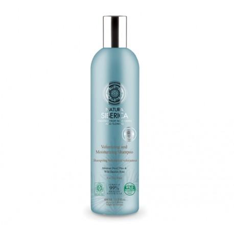 Šampón pre objem a hydratáciu vlasov (400 ml), NATURA SIBERICA