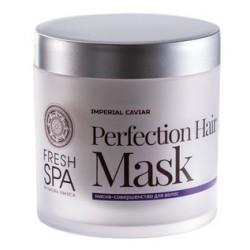 Skrášľujúca a obnovujúca maska na vlasy (400 ml), Imperial Caviar, NATURA SIBERICA