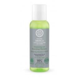 Šampón pre objem a výživu vlasov (50 ml) - Cestovné balenie, NATURA SIBERICA