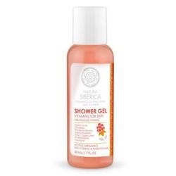 Vitamínový sprchový gél (50 ml) - Cestovné balenie, NATURA SIBERICA