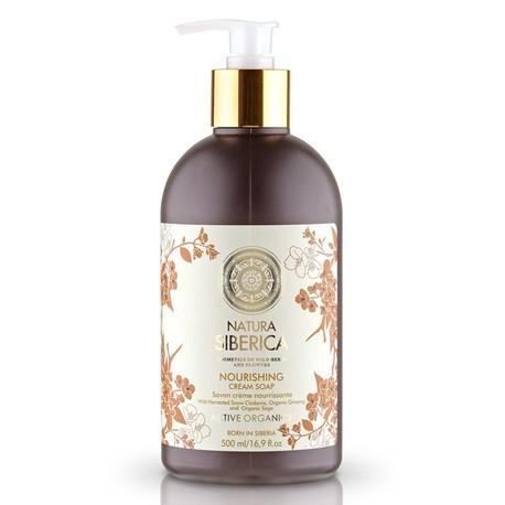 Vyživujúce krémové mydlo (500 ml), NATURA SIBERICA
